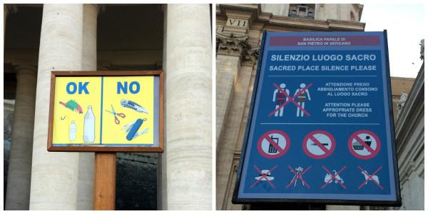 Placas Vaticano