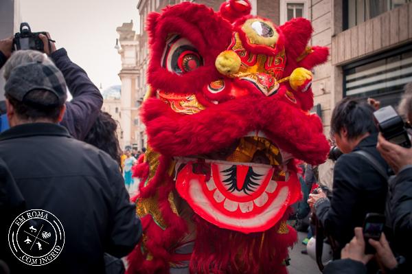 Ano Novo chinês em Roma