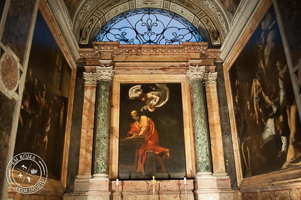 Obras de Caravaggio Gratis - Igreja de São Luis dos Franceses