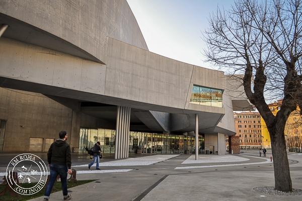 MaXXI - Museu Nacional de Arte do século 21 - EmRoma.com