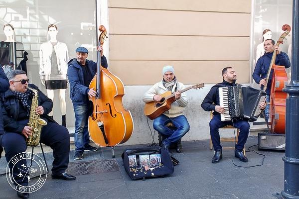 Artistas de Rua em Roma - EmRoma.com