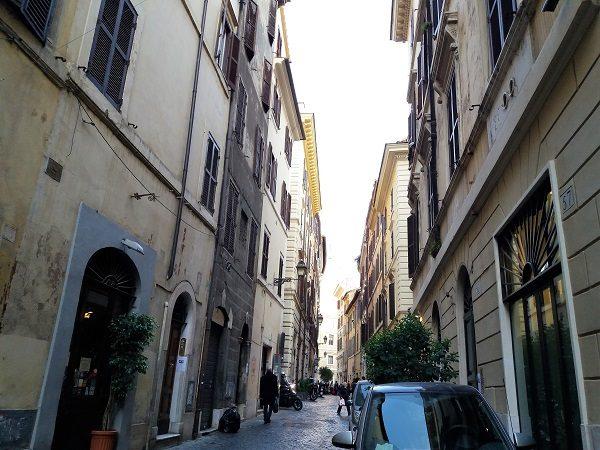 Comercio Local em Roma