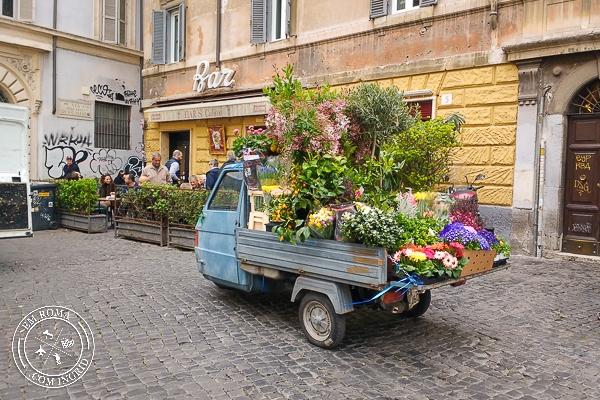 coisas que eu adoro em Roma