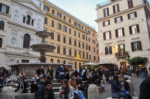 Bairro Monti - restaurantes, bares, brechós, artesanatos em Roma