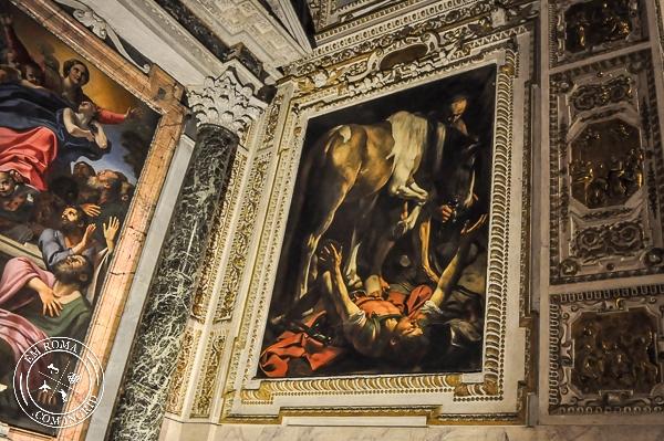 Basílica Santa Maria do Povo em Roma